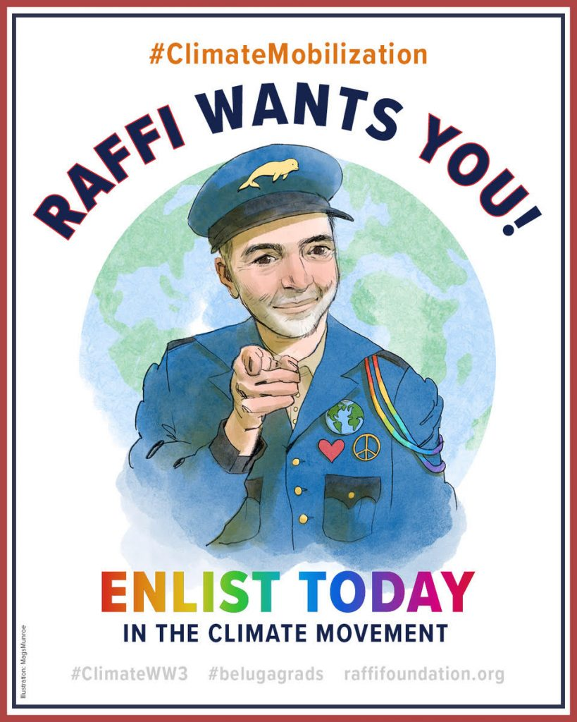 Raffi Wants You! Climate Mobilization